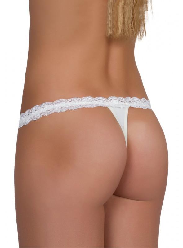 Kalhotky dámské tanga No.083 EWANA | bílá | velkoobchod HOTEX